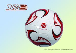 Machine Stitched PVC Size 5 Cheap Soccer Ball pictures & photos