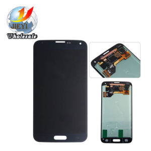 LCD Screen & Digitizer Touch Panel Black for Samsung Galaxy S5 LCD Display pictures & photos