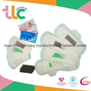 Feminine Negative Ions Comfort Sanitary Pad for Girl Made in China