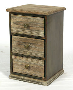 Retro Style House Furniture Bedroom Night Stand Wooden Cabinet