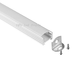 17X12mm Linear with Diffuser Aluminium LED Profile for LED Strip pictures & photos