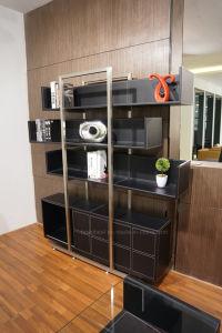 2017 Modern Office Furniture Veneer Bookshelf (G01) pictures & photos
