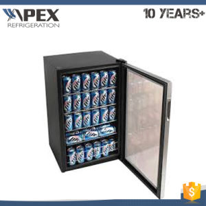 100liter Mini Glass Door Veritical Cooler Counter Top Cooler pictures & photos