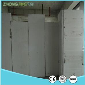 iso standard easy assembled lightweigh soundproof pvc cladding wall panel