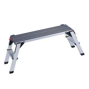 Portable Aluminium Working Platform Ladder pictures & photos