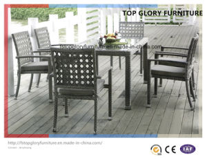Outdoor Furniture with Table and Chairs (TG-1619) pictures & photos