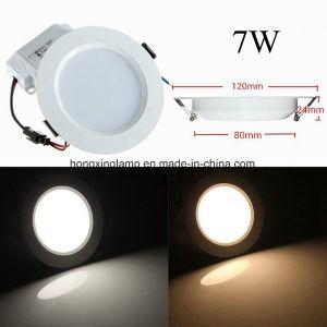Slim LED Panel 7W 12W 18W Round Panel Light pictures & photos
