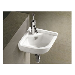 Corner Small Size Wall Hung Basin for Bathroom pictures & photos