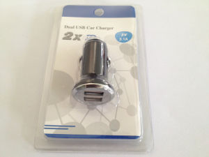 Mini Dual USB Mobile Phone Charger Car Charger pictures & photos