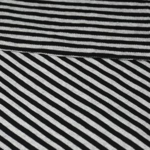 260GSM Cotton Spandex Yarn Dyed Stripe Rib pictures & photos