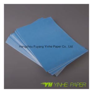 80GSM Yellow Color Fluorescent Adhesive pictures & photos