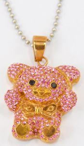 2016 Fresh Animal Pendant Designs with Real Diamond necklace pictures & photos
