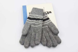 Jacquard Smartphone Gloves for Itouched Screen Function Knitted Men Gloves pictures & photos