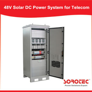 Hybrid off-Grid Solar 48VDC Power System for Communication Base Station pictures & photos
