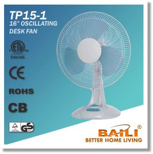 "Popular 16"" Powerfull Cooling Desk Fan, Table Fan with 1 Hour Timer pictures & photos"