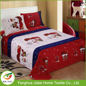 China Factory Single Use Bed Sheet Designs for Wedding pictures & photos