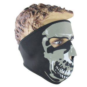 Full Face Ghost Wind Proof Veil Racing Face Mask (AM045) pictures & photos