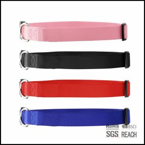 Cheap Customised Blank Solid Color Nylon Pet Dog Cat Collars pictures & photos