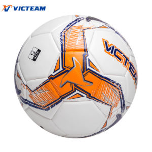 Standard Size 5 PU EVA Material Laminated Football pictures & photos