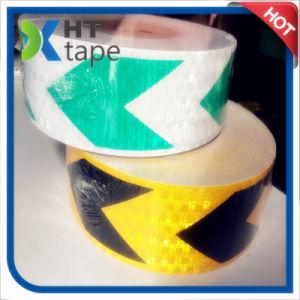 Hazard Warning Adhesive Truck PVC Pet Reflective Tape pictures & photos