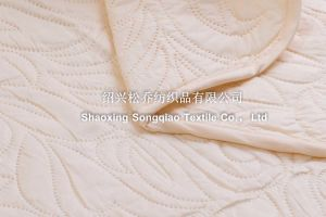 Laser Embossing 100% Cotton Blankets/ Bed Sheet pictures & photos