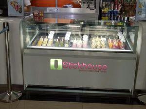 Popsicles Display Cabinet / Stick Showcase / Ice Cream Gelato Freezers (CE) pictures & photos