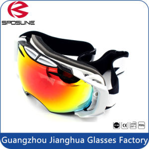 Cheap Custom PC Lens Ski Goggles Anti-Fog Unisex Snowboarding Goggles with Long Adjustable Straps pictures & photos