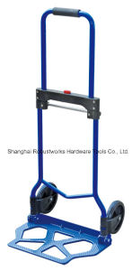 Foldable Steel Hand Truck (HT022FK-1) pictures & photos
