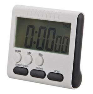 Large LCD Digital Kitchen Timer Count up Down Alarm Clock 24 Hours with Stand Fuli pictures & photos