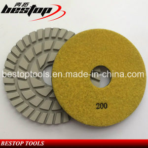 Bestop Microfiber Flexible Diamond Polishing Pads for Stone pictures & photos