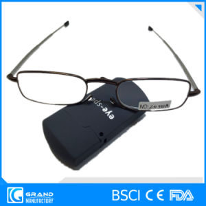 Hot Selling Popular Magnivision Mini Folding Reading Glasses with Display pictures & photos