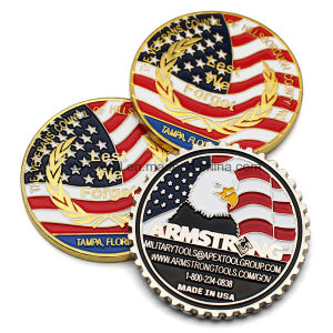 Custom American Bald Eagle Challenge Souvenir Coin pictures & photos