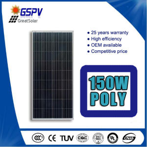 150W Poly Solar Panels with Excellent Price and Good Quality pictures & photos