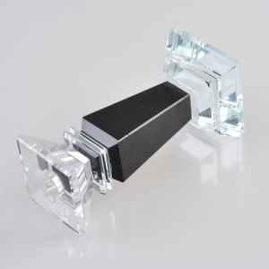 Wholesale Black Crystal Candle Holder for Decoration pictures & photos