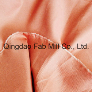 Organice Cotton/Linen Twill Fabric for Clothing (QF16-2674) pictures & photos