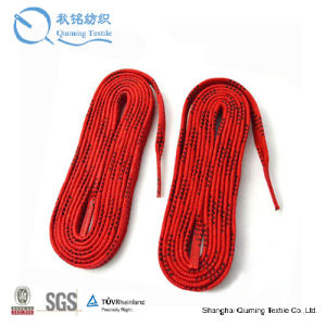 Cotton Braid Waxed Ice Hockey Skate Laces pictures & photos