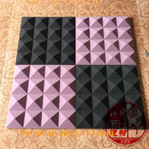 Acoustical Foam Wholesale Soundproof and Sound Insulation Sponge Decoration Panel Board Sheet pictures & photos