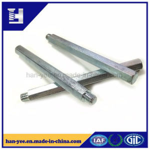 Long Length Hex Rod with Half Thread Bolt pictures & photos