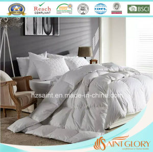 Luxury Home or Hotel Use 75% White Goose Down Duvet Duck Feather and Down Comforter pictures & photos