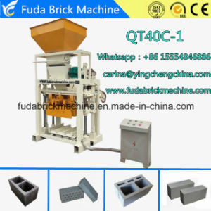 Qt40c-1 Semi Automatic Concrete Hollow Block Making Machine pictures & photos