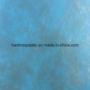 Oil Wax PVC Artificial Leather for Furniture Sofa pictures & photos