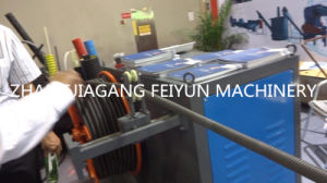 PP and PE Corrugated Pipe Production Line pictures & photos