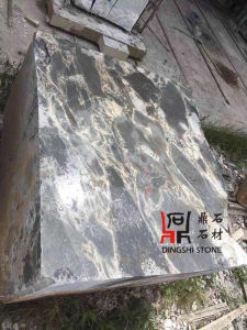Natural Stone Chinese Nice Original Galaxy Blue Marble Blocks for Projects pictures & photos