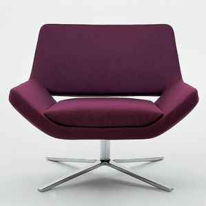 Project Fabric Couch Sofa Living Room Leisure Hotel Chair (HX-S008) pictures & photos