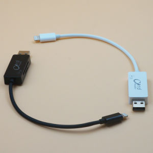 Lightning Data Charging Cable + Microsd SD OTG Card Reader (YT-RC002) pictures & photos