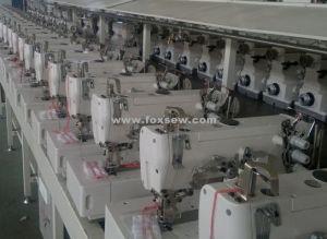 High Speed Flatbed Interlock Machine pictures & photos