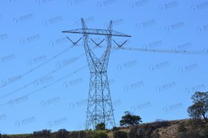 Steel Galvanized Line Transmission Tower pictures & photos