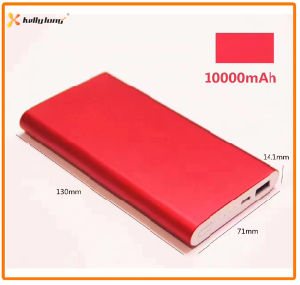 10000mAh Aluminium Mobile Phone Portable Charger