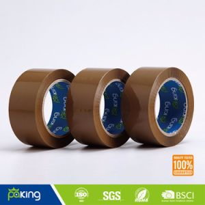 Tan Good Adhesion Low Noise BOPP Packaging Tape pictures & photos