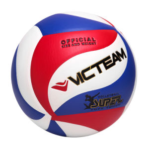 Official Size 5 Laminated Training Volleyball Ball pictures & photos